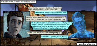 The Gist of Tales From The Borderlands