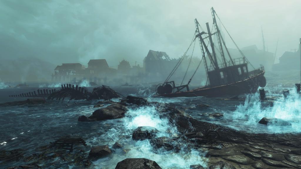 FAllout 4 DLC screenshot Far Harbour