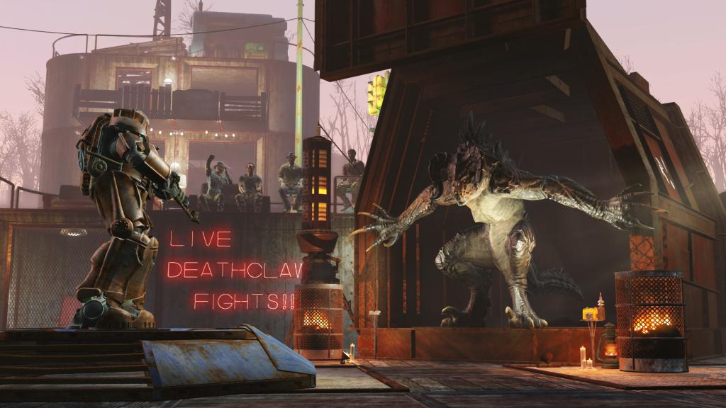 FAllout 4 DLC screenshot wasteland workshop