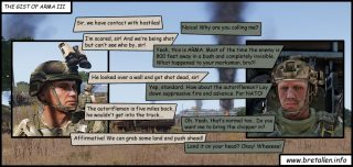The Gist of Arma 3 – Comic game review